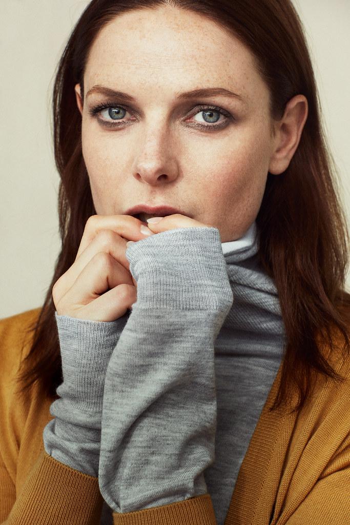 Ребекка Фергюсон — Фотосессия для «InStyle» UK 2015 – 5