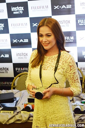 Fujifilm Philippines picks Bea Alonzo as endorser for Fujifilm X-A2 camera