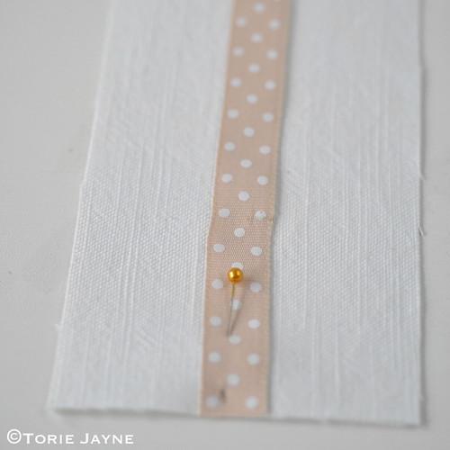 DIY bobby pin holder tutorial 1