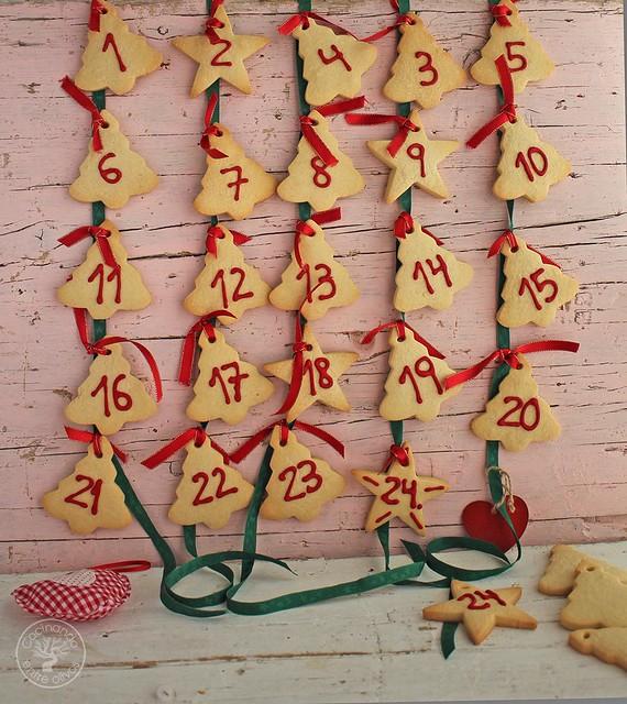 Calendario de adviento de galletas www.cocinandoentreolivos.com (26)