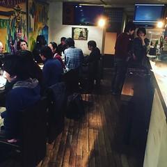 京都のアイリッシュの聖地、フィールドに来た( ´ ▽ ` )ノ今日は寿司を食べながらのアイリッシュセッションの日!まさに楽しめる会なのです!