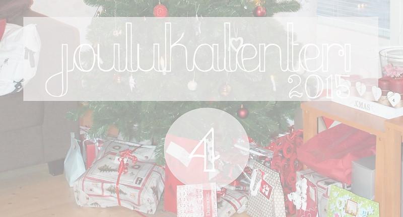 joulukalenteri luukku 4