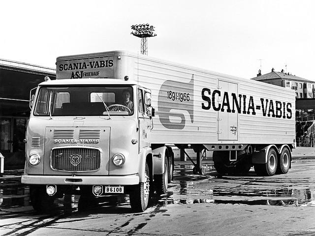 Грузовик Scania-Vabis LBS7634S 4x2. 1963 год