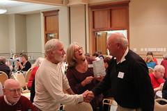 Ted Sargent, Barbara and Harris Bucklin.