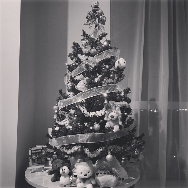 Our mini Christmas tree