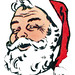 1958 Santa Claus detail by totallymystified