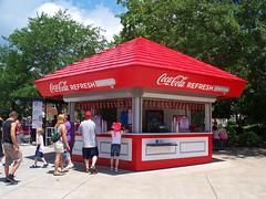OH Sandusky - Coca Cola Stand