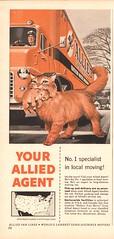 1956 Allied Van Lines Advertisement Time Magazine June 25 1956