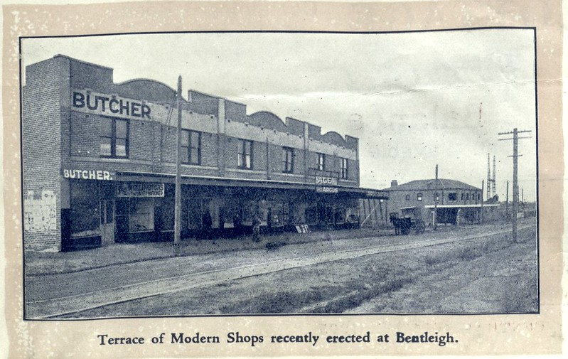 Bentleigh shops, 1920s