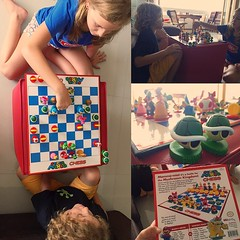 So excited to show this to my mentor class! #mario chess set FTW! The #Psillides not so littles got try it out today. #mentor #year4 #7Pgu @cpsillides