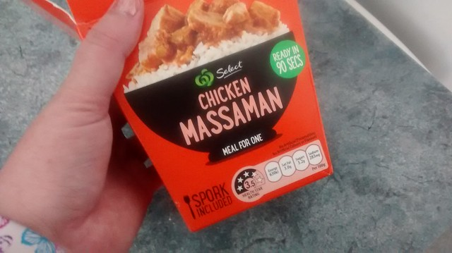 woolworths select chicken massamum