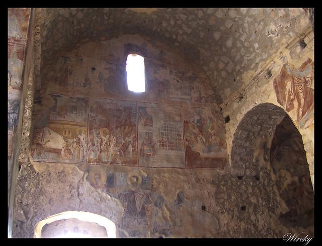 Grecia Nauplia Esparta Mistrás Olimpia - Frescos St Nikolaos