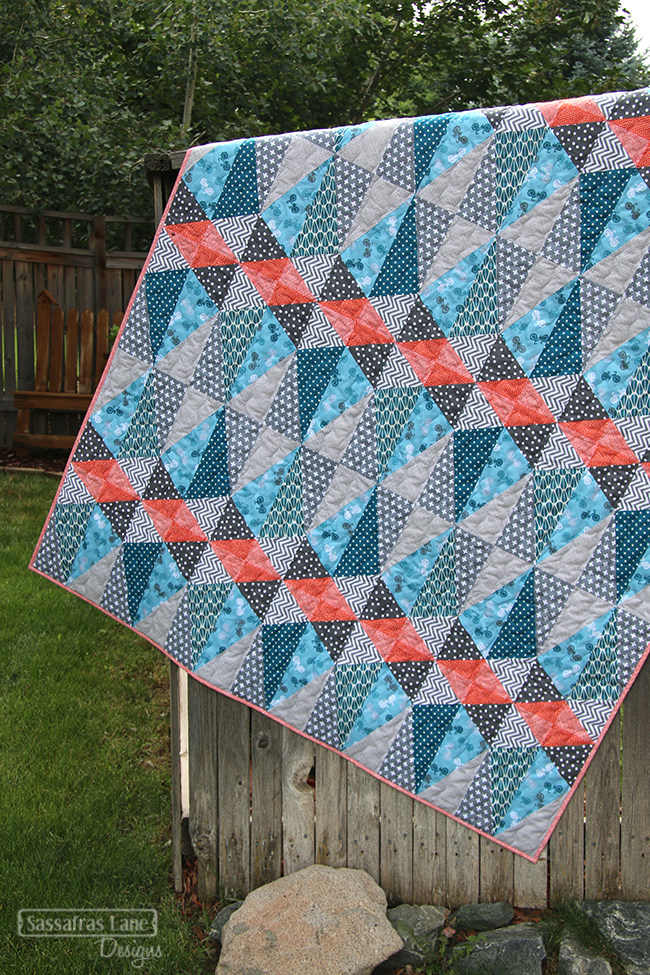 Alayna's Euclid Avenue Quilt