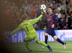 El de Messi al Bayern, mejor gol de la temporada en Europa