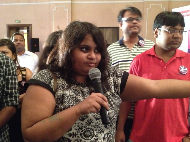 Team Member of Octopus Group - Berger Express Painting IndiBlogger Meet 2015 at The Oberoi Grand, Kolkata