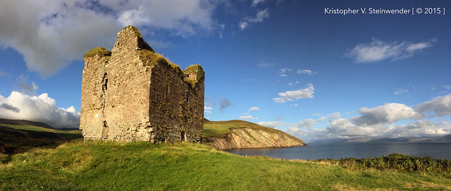 Minard Castle Ruins, Co. Kerry, Ireland