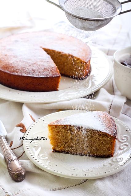 Kedleston marmalade cake