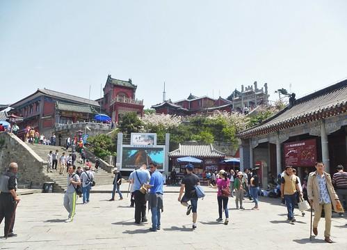 CH-Mont Taishan-Sommet 1-Porte céleste du Sud (5)