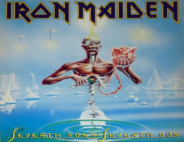 """IRON MAIDEN SEVENTH SON OF A SEVENTH SON Germany 12"""" Vinyl LP"""