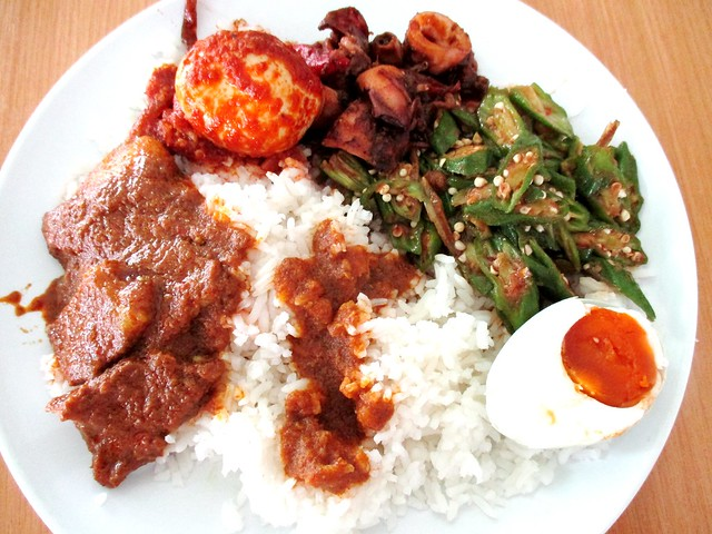 Liza Islamic Cafe nasi campur