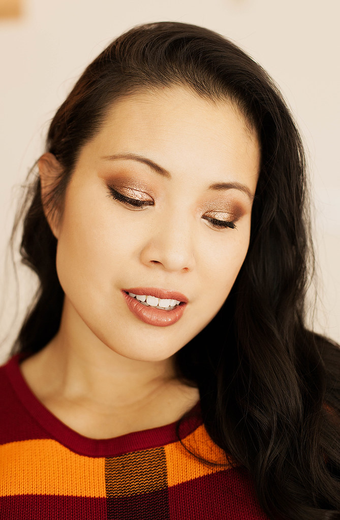 cute & little blog | fall autumn smokey taupe makeup