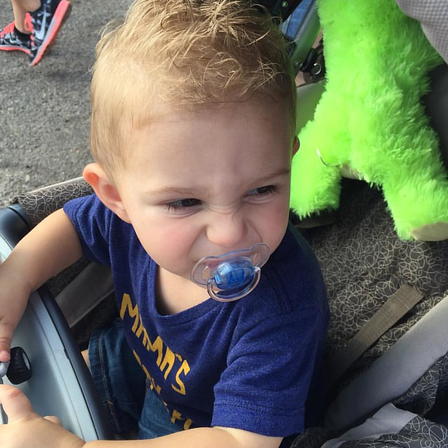 Knox saw some distasteful behavior at his first State Fair.