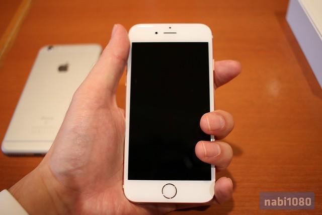 iPhone 6sローズゴールド17
