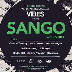 10/9 - DJNA joins the WERC Crew in ATL for VIBES @ Bassment