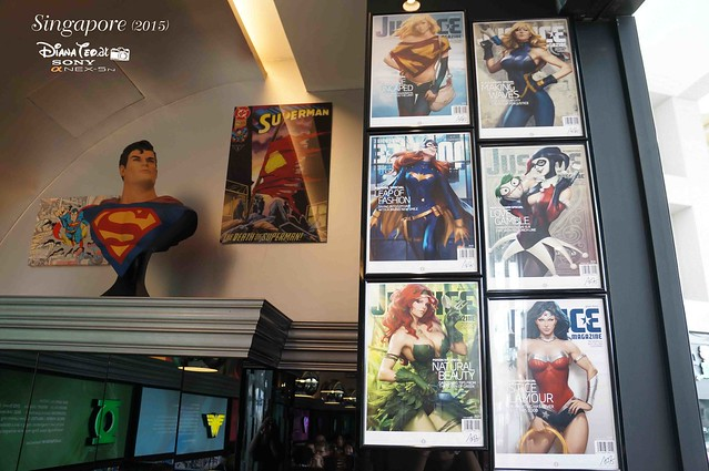 DC Comics Super Heroes Cafe Singapore 06