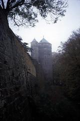 Elbsandsteingebirge (166) Burg Stolpen Coselturm