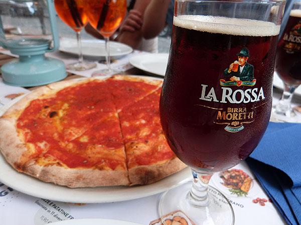 spritz, La Rossa et Pizza