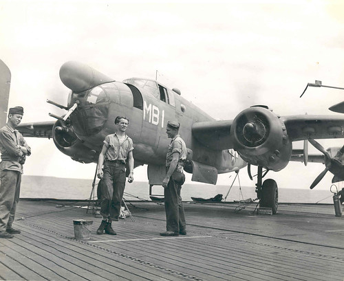 PBJ-1D_on_USS_Manila_Bay_1944