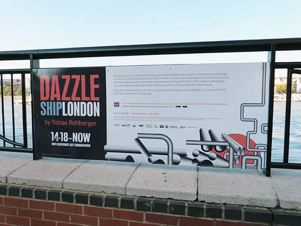 DAzzle ship london