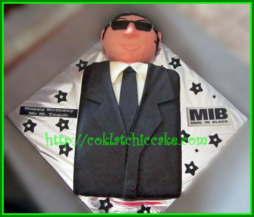 Cake Man In Black