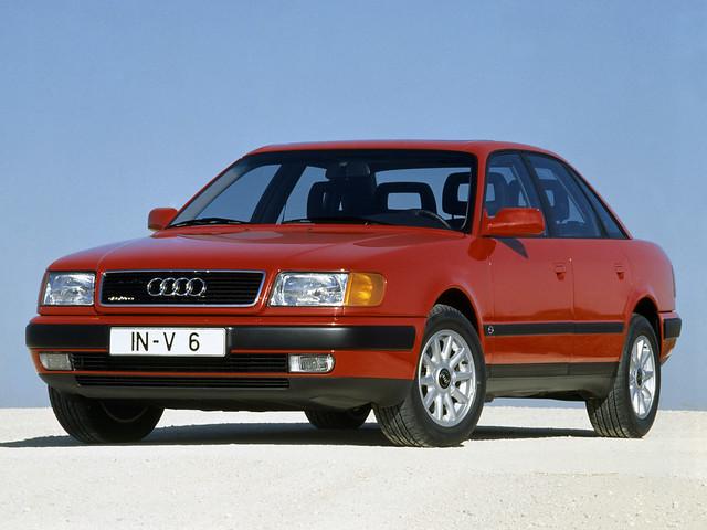Полноприводный седан Audi 100 C4 quattro. 1990 – 1994 годы