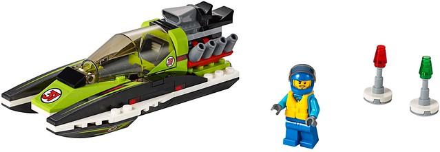 LEGO City 2016: 60114 - Race Boat