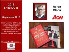 Aaron Olson's new book