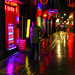 The red lights of Soho by fast eddie 42