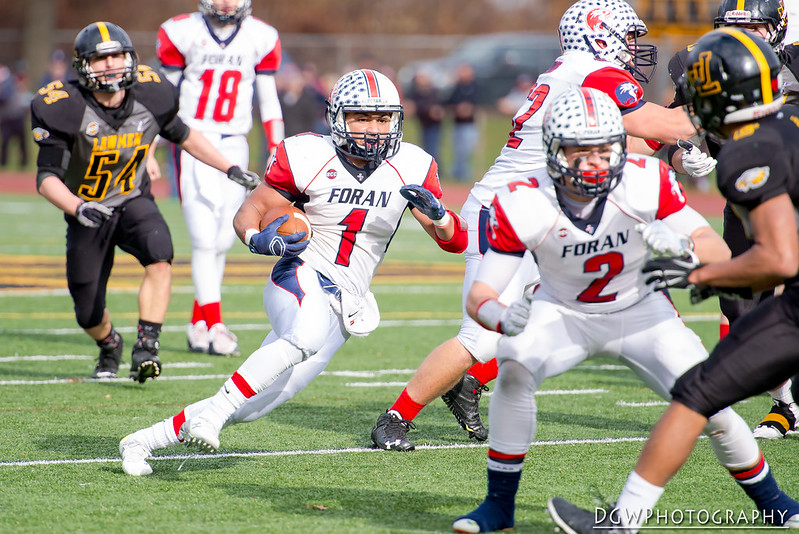 Foran High vs. Jonathan Law - High School Football