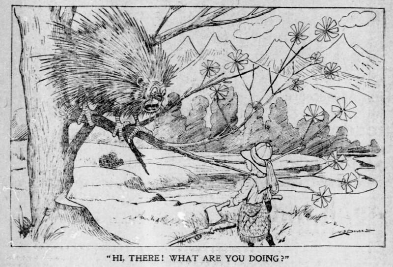 The Salt Lake herald., March 16, 1902 Porcupecker
