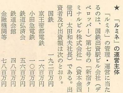 京王線新宿駅とルミネ (8)