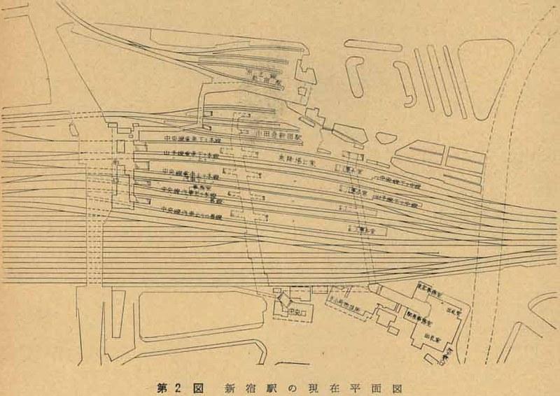 京王線新宿駅とルミネ (1)