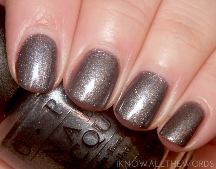 OPI Starlight Collection No More Mr. Night Sky