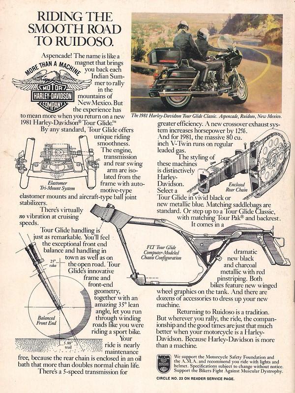 1981 Tour Glide