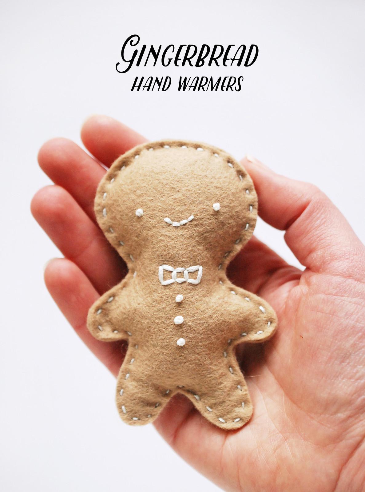 Gingerbread Handwarmers