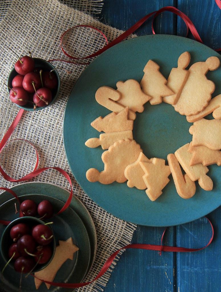 guirlanda de biscoitos