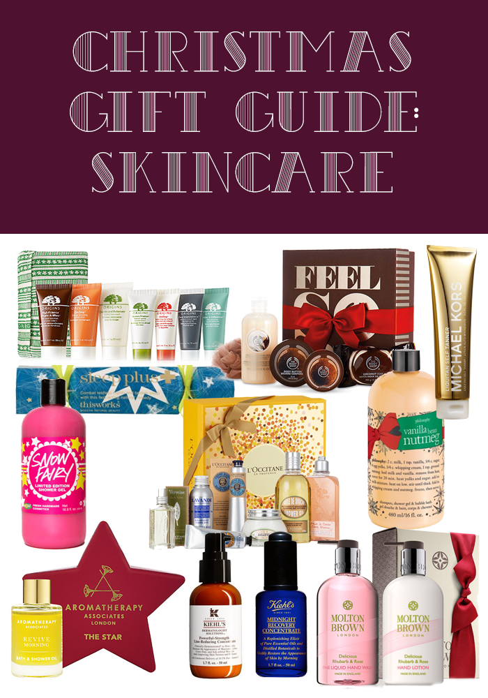 Christmas Gift Guide: Skincare 2015