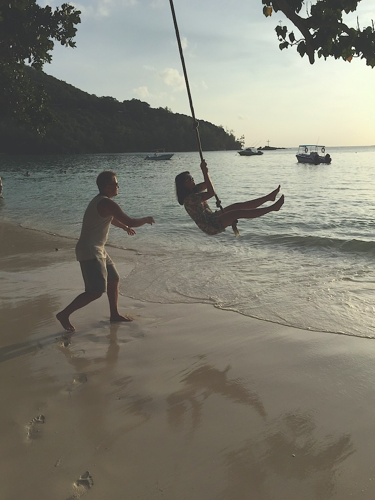 The famous island swing