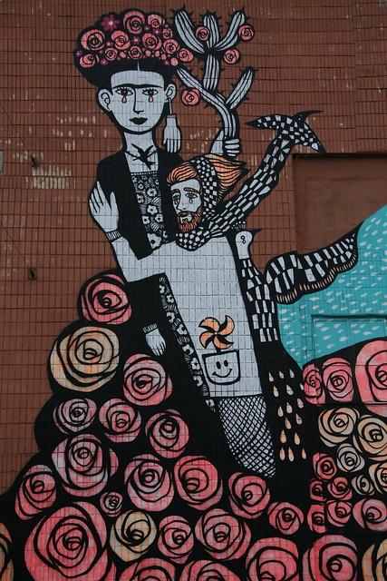 Street Art on KASTRYCHNITSKAYA STREET