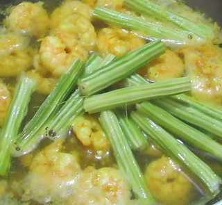 Prawns and Drumstick Curry Step - 3